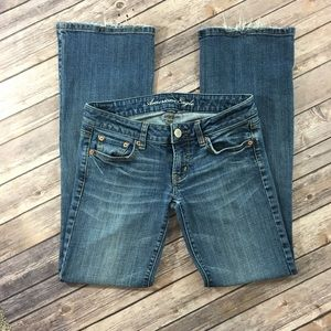 American Eagle Favorite Boyfriend Bootcut Jeans 2